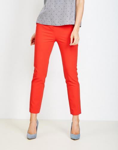 Pantalon met kartelranden